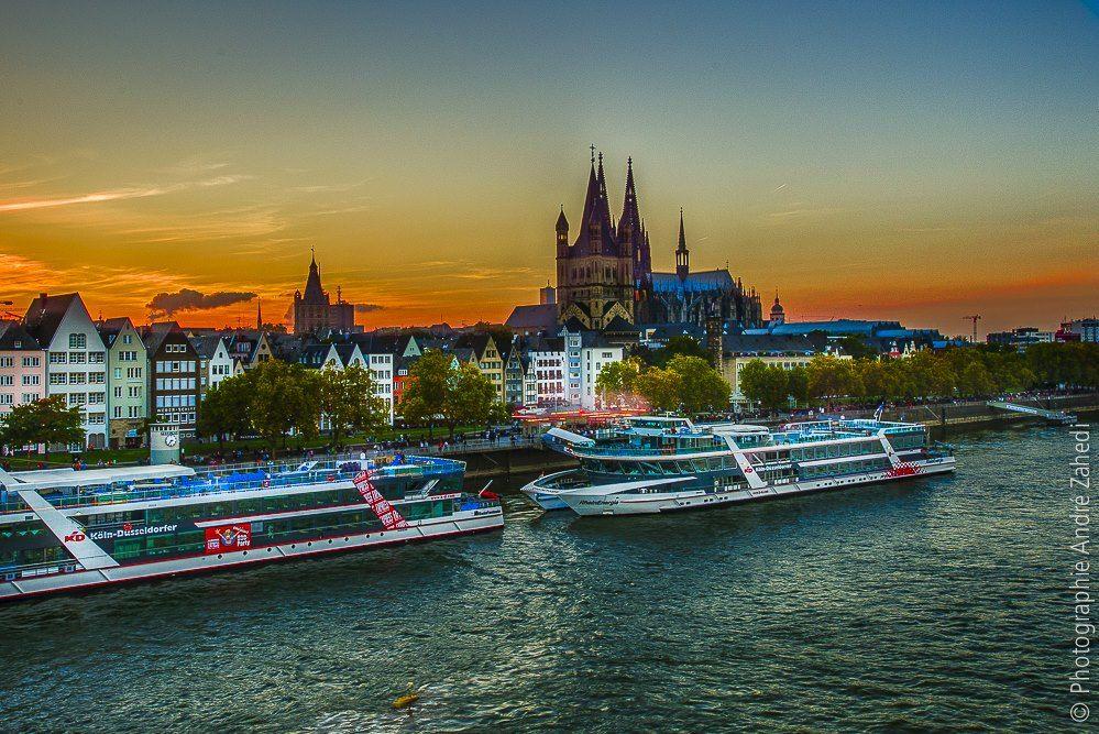 Schifffahrt auf dem Rhein - André Zahedi