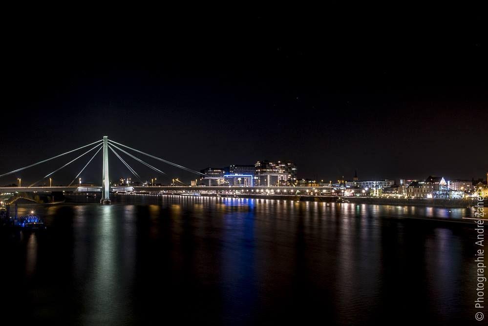 Panorama Köln bei Nacht - André Zahedi
