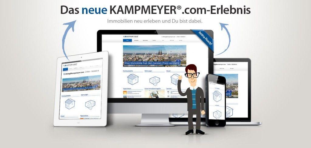 KAMPMEYER.com im neuen Design