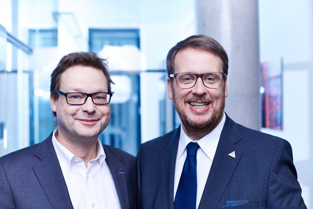 Jürgen Tönissen und Roland Kampmeyer