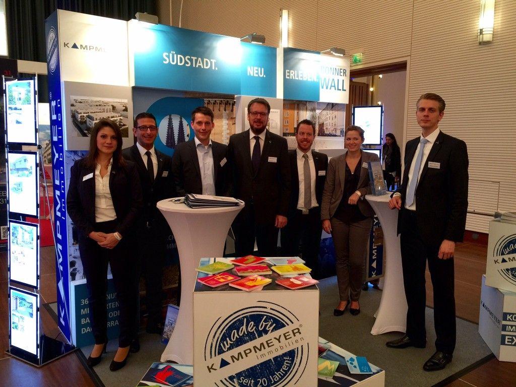 Team KAMPMEYER zur 6. Kölner Immobilienmesse
