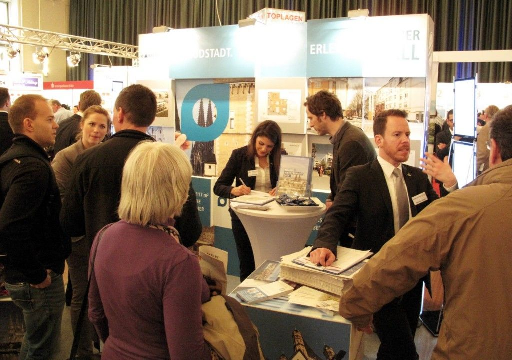 Stand KAMPMEYER Immobilienmesse 2015