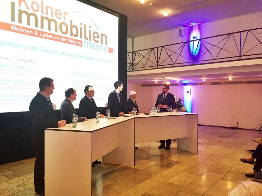Diskussion 6. Kölner Immobilienmesse