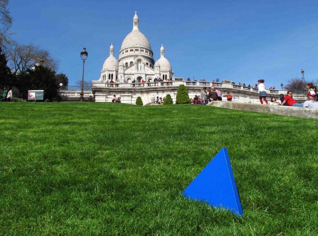 Das Dreieck auf Reisen in Paris