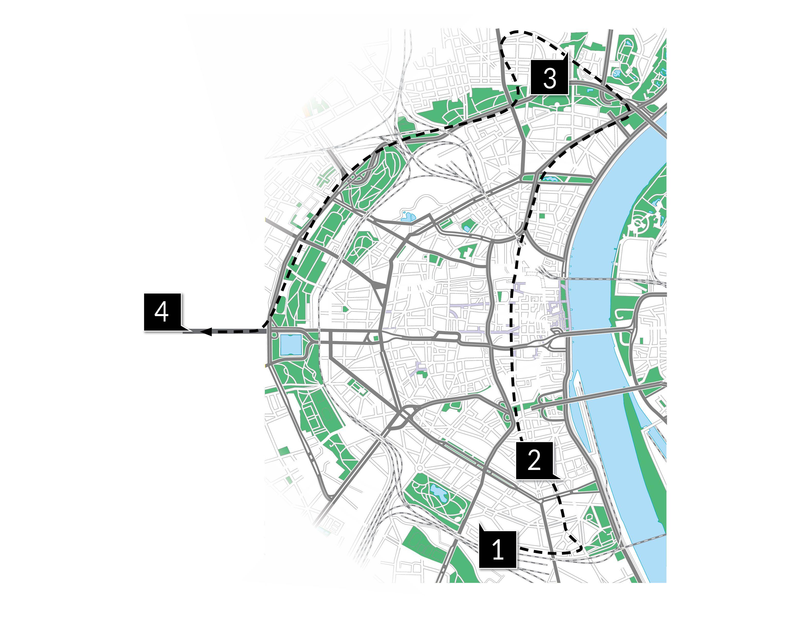 Köln Karte