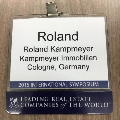 Symposium Badge Roland Kampmeyer