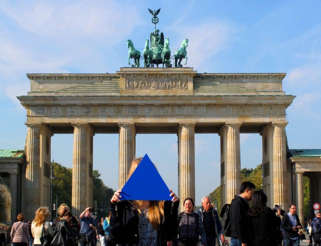 Dreieck auf Reisen in Berlin