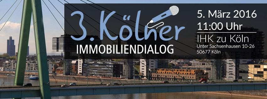 3. Kölner Immobiliendialog
