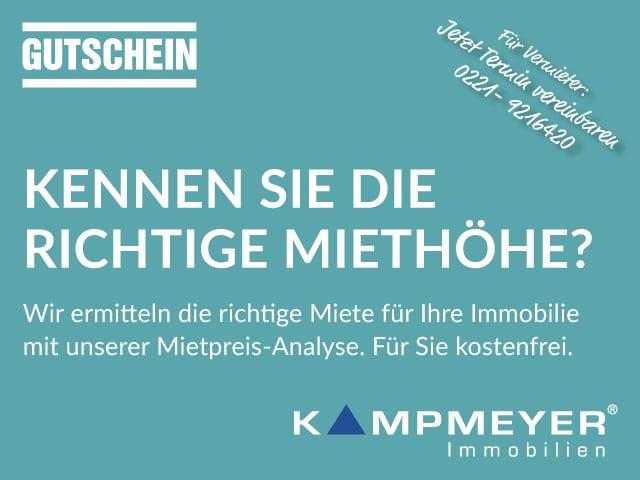 Gutschein Mietpreis-Analyse 2016