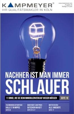 KAMPMEYER-Magazin Cover Ausgabe 35