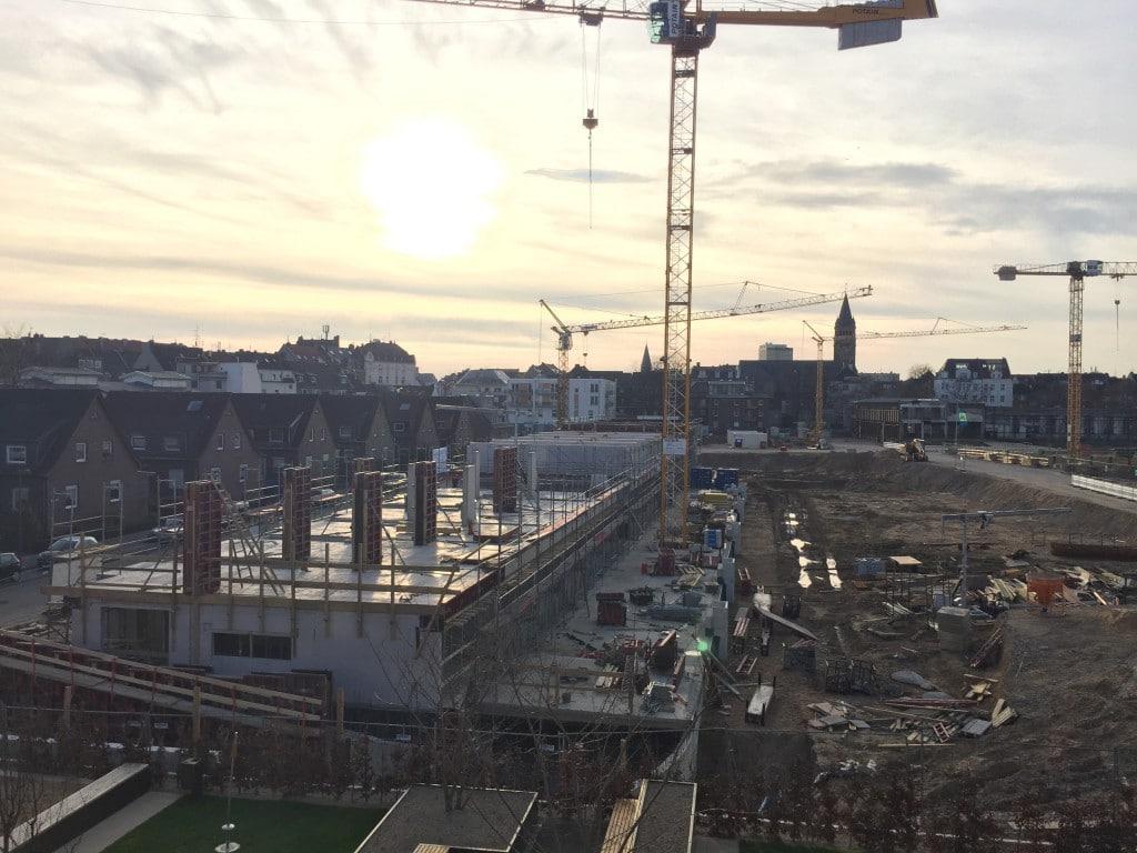 Baustelle Josefine CLOUTH März 2016