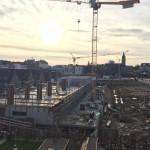 Baustellenrundgang im Clouth-Quartier mit Bernd Streitberger