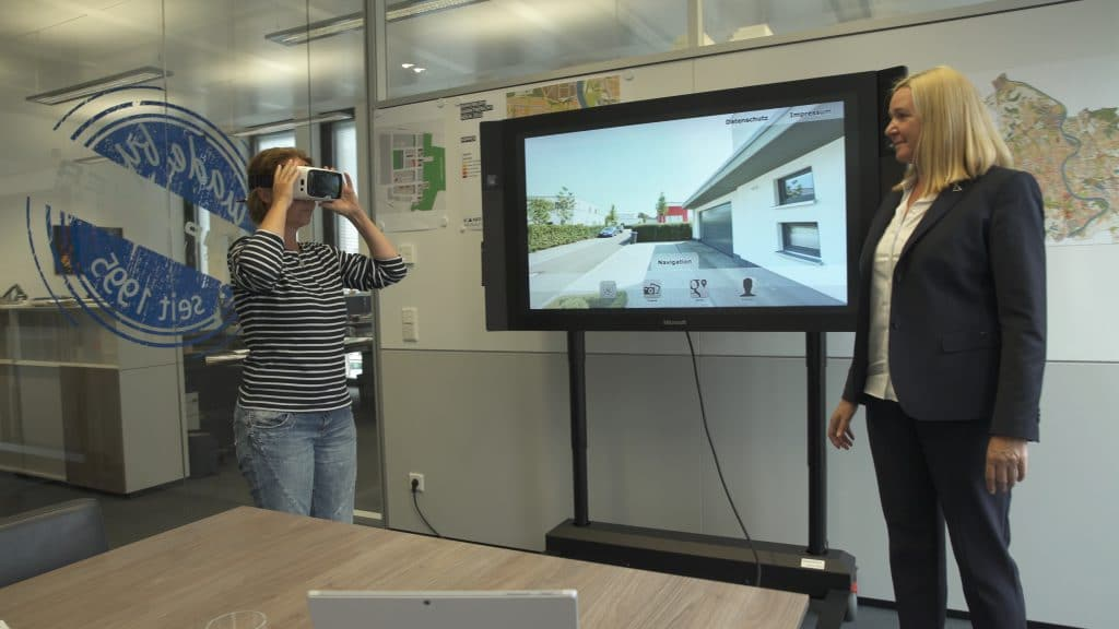 Immobilie360° mit Virtual-Reality-Brille
