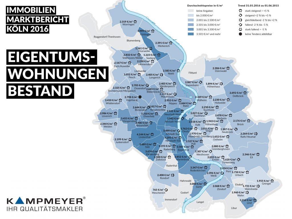 Karte Eigentumswohnung Bestand 2016