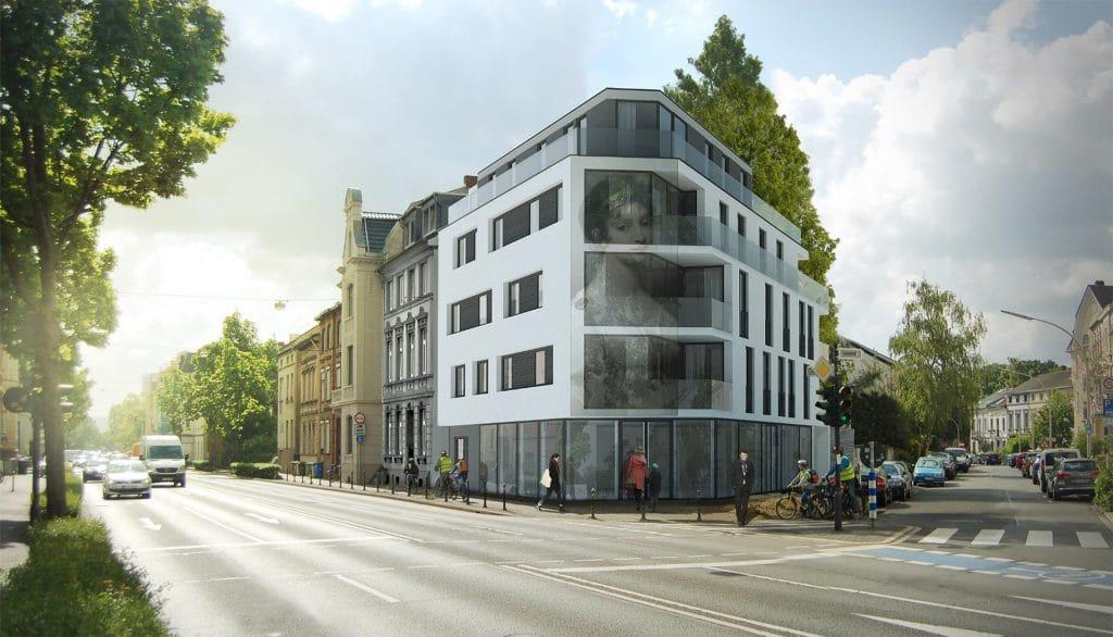 Büro Bonn KAMPMEYER Fassade