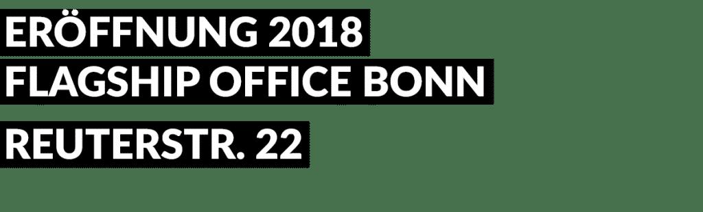 Eröffnung 2018 Bonn Büro KAMPMEYER
