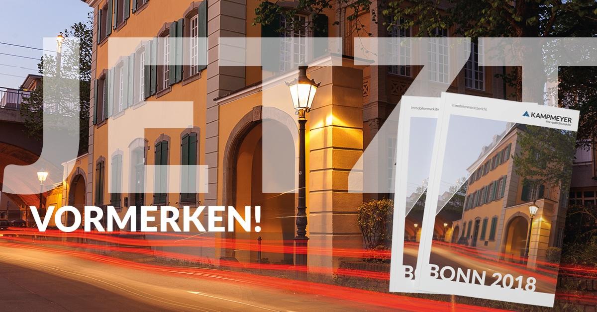 Der Immobilienmarktbericht Bonn ist da