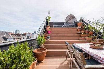 Foto vom Außenbereich einer Immobilie